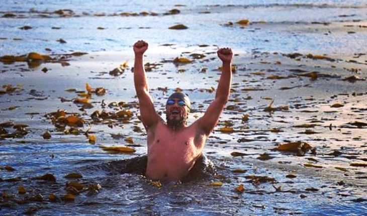 Puerto Natales swimmer wants to break record in Señoret channel