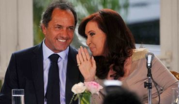 "Scioli charged the Campora to ""fill the head"" Cristina Kirchner"