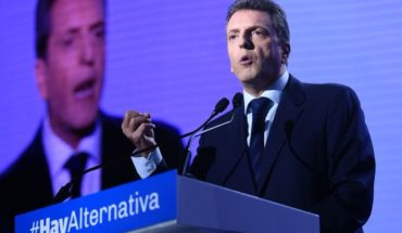 Sergio Massa launched his candidacy to President in the Rural