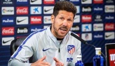 Simeone warns Atlético serving only victory before Barcelona