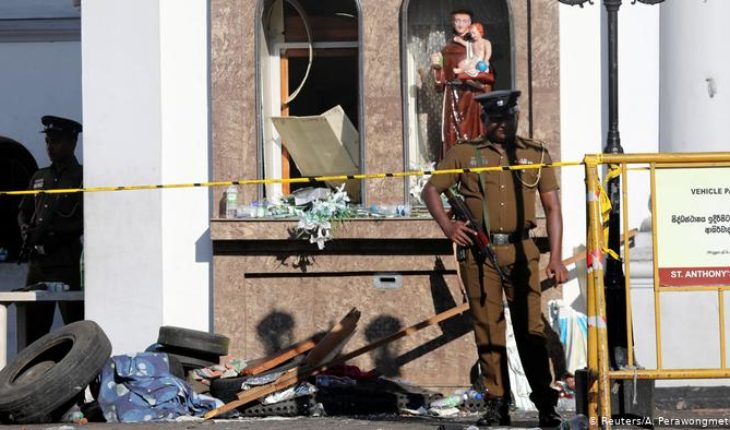 Sri Lanka accuses a local Islamist group of being behind the attacks