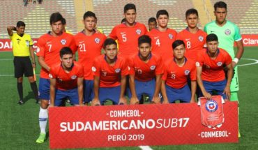 """The """"Red"""" sub 17 seeks its classification to the Brazil World Cup in Uruguay"""