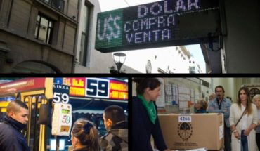 The dollar fell, spoke the auxiliary green handkerchief about Granata, services affected by unemployment of 30 and more...