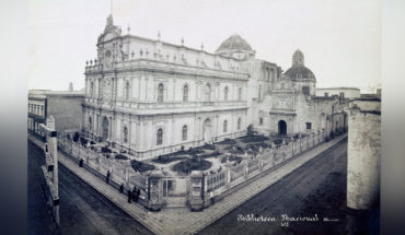 The transformation of the Temple of San Agustín in the National Library of Mexico