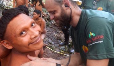 They achieved successful expedition with tribe isolated in Brazil