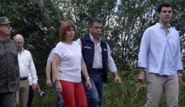 They attacked with stones and Patricia Bullrich Urtubey in Salta