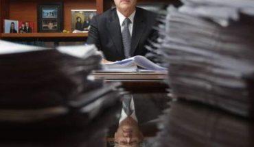 They reveal excessive entry of the conservative de Bienes Raíces de Santiago: $700 million a month