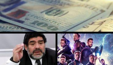"Unstoppable dollar, warning of the entrepreneurs, Maradona on the crisis, ""Avengers Endgame"" in cinemas and much more..."