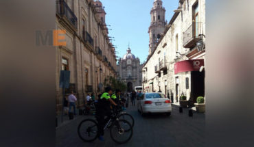 With 300 active elements, start security operation for Holy week in Morelia