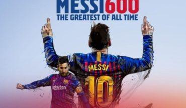 ¡No se cansa! Además de los 600 goles, Leo Messi batió otro récord