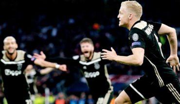 Ajax golpea a domicilio al Tottenham en el primer duelo de semifinales de la Champions League
