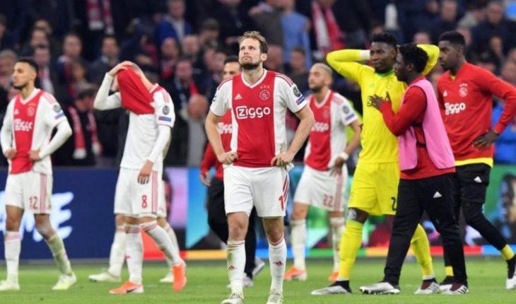 Ajax se desploma en la bolsa de valores al caer en Champions League