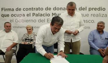 Alcalde morenista de Villahermosa, Tabasco, pone en venta el palacio municipal