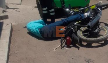 Asesinan en Apatzingán, Michoacán a un motociclista