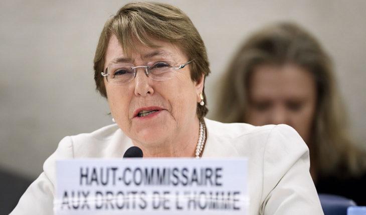 """Bachelet manifiesta estar """"extremadamente preocupada por las informaciones acerca del uso excesivo de la fuerza"""" en conflicto en Venezuela"""