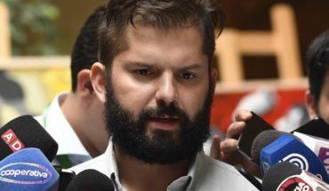 """Boric recorrerá Chile para legalizar nuevo partido: """"No es sostenible seguir dividiéndonos en diferentes y pequeñas islas de izquierda"""""""