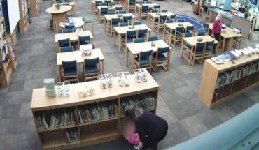 Cámara de vigilancia capta a una maestra que maltrata y patea a una niña de cinco años (Video)