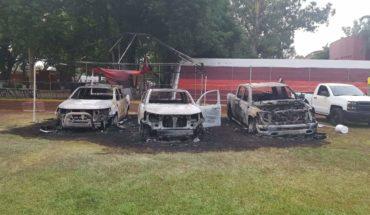 CJNG también atacó el hogar del Secretario del Ayuntamiento de Zamora y quemaron autos en el Bikini Car