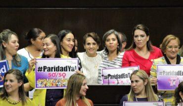 Diputados aprueban reforma de paridad de género