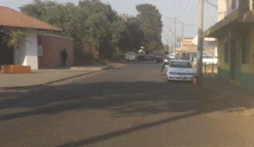 """Ejecutan a taxista de la línea """"Master Plus"""" en Uruapan, Michoacán"""