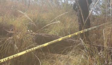 Encuentran un cadáver en el Cerro de la Cruz en Uruapan, Michoacán