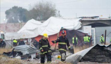 Explosión de pirotecnia en Tultepec deja un muerto y 4 heridos
