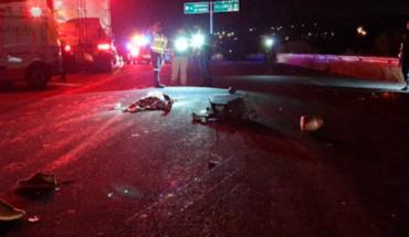 Familia en moto protagoniza accidente, la mamá y una bebé mueren en La Piedad, Michoacán