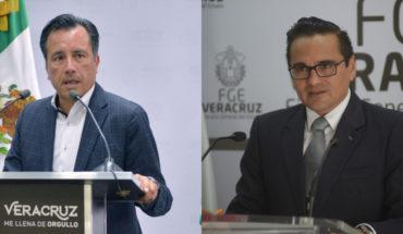 Gobierno de Veracruz denuncia al fiscal estatal ante FGR