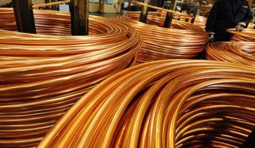 Guerra comercial sigue golpeando precio del cobre, que cae 1,8 % en la semana