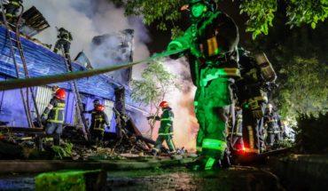 Incendio destruyó el restaurante Ocean's Pacific en Cumming
