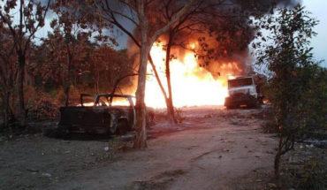 Incendio en ducto de Pemex en Chiapas, fue provocado por toma clandestina