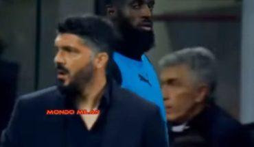 "Insólito: Un jugador del Milan ""mandó a la mierda"" al director técnico Gattuso"