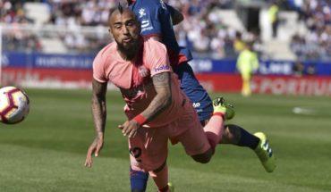 La Liga: Vidal y Orellana jugaron los 90' en empate entre FC Barcelona y Eibar
