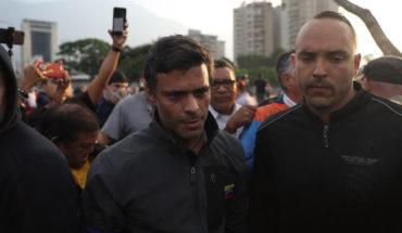 Leopoldo López dijo que en su arresto se reunió con militares que manifestaron adhesión a la Constitución y a Guaidó