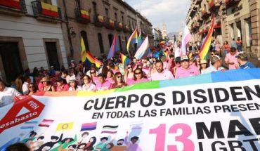 Marcha comunidad LGBTTTIAQ+ en Morelia y el gobierno de Silvano rompe fobias este año