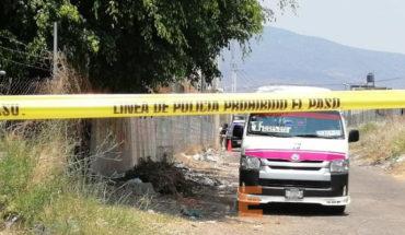 Matan a chofer de la Ruta Rosa en el Fraccionamiento Puerta del Sol de Tarímbaro