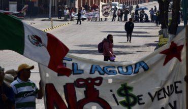 Mujeres luchan por evitar la construcción de una presa en Zacatecas