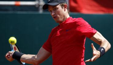 Nico Jarry fue eliminado en la primera ronda de Roland Garros
