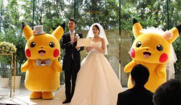 Nueva moda: Matrimonios al estilo Pokemón