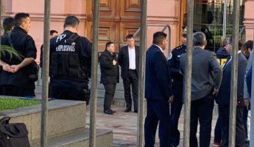 Peligro en Buenos Aires: Detienen a hombre armado que intentó entrar a la Casa Rosada