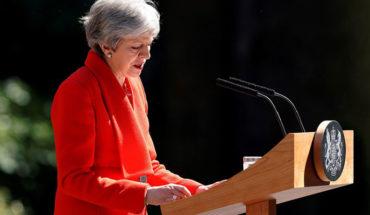 Primera ministra británica anunció que dimitirá el 7 de junio