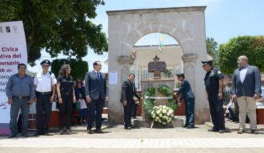 Reconoce Ayuntamiento de Morelia legado del insurgente José María Guadalupe Salto