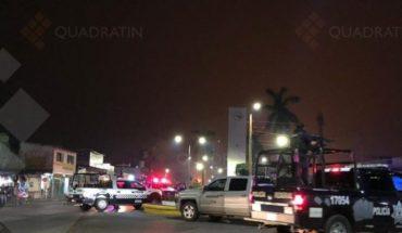 Se enfrentan policías y grupo armado en Minatitlán