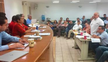 Solicitan trabajadores atención al departamento de Control Escolar, autoridades ofrecen acuerdos
