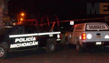 Tiroteo entre policías y gatilleros en Chilchota deja un presunto criminal muerto