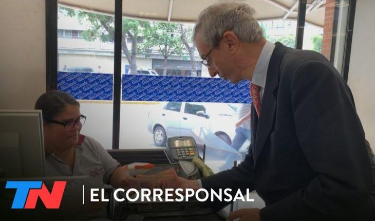 ¿Qué pudo comprar Nelson Castro en Venezuela con un salario mínimo?