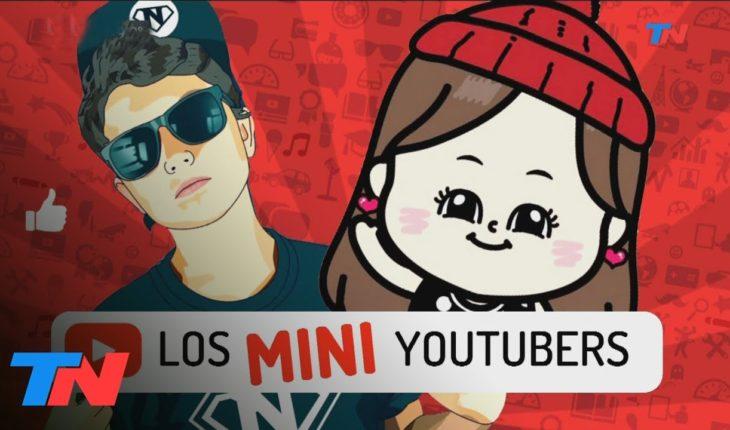 """Cada vez son más los """"Mini youtubers"""""""