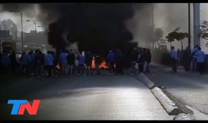 Chofer de colectivo baleado en Virrey del Pino