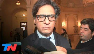 "Garavano: ""La Corte va a tener que resolver si el juicio (a Cristina Kirchner) se realiza"""