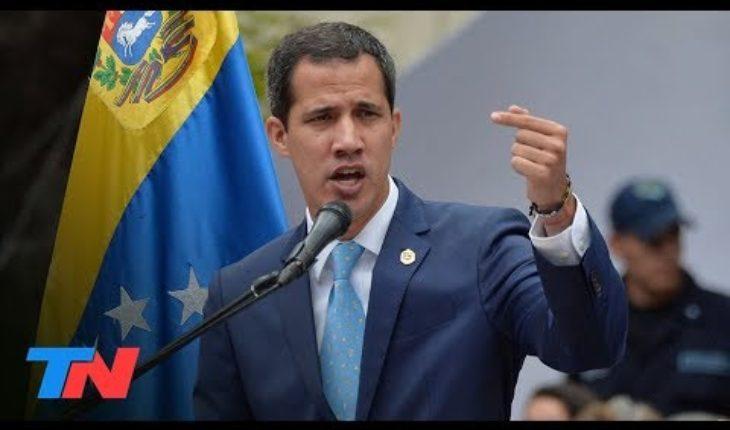 """Guaidó habló con TN: """"La situación es muy crítica"""""""